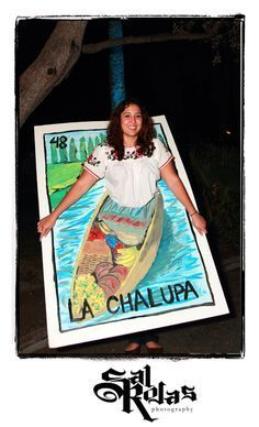 La Chalupa Loteria Card- This would be the BEST Halloween costume ever! Mexican Birthday Parties, Mexican Fiesta Party, Fiesta Theme Party, Taco Party, 4th Birthday, Halloween 2017, Holidays Halloween, Halloween Party, Halloween Costumes