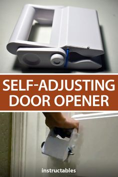 This 3D printed self-adjusting door opener allows you to grab handles and open doors without dirtying or contaminating your hands. #Instructables #3Dprint #workshop #health #cleaning