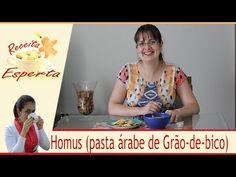 HOMUS / PASTA ÁRABE DE GRÃO DE BICO / APRENDA A FAZER | RECEITA ESPERTA