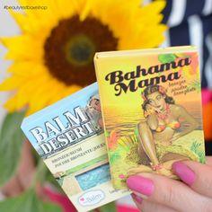 Από τα κορυφαία #look αυτής της περιόδου είναι το ηλιοκαμένο #μακιγιάζ! The Balm Desert #Bronzer & Bahama mama #powder θα σας συνοδέψουν άψογα σε όλες τις καλοκαιρινές σας, καυτές εμφανίσεις! ! ☀❤  See more at: http://www.beautytestbox.com/woman/proionta?brand=119_136&cat=107&manufacturer=136 #beautytestbox #beautytestboxeshop #GreekEshop #cosmetics #makeup #beauty #beautybloggers #BeautyinGreece #Greece #GreekGirl #happy #care #like #musthave #must_have #excited #beautyproducts #instadail