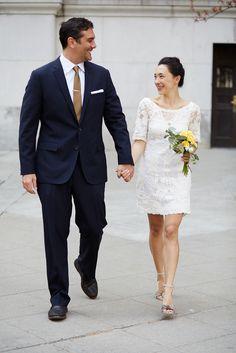 Lovely City Hall Wedding