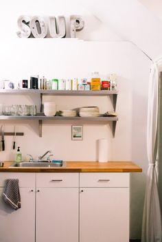 Brian and Julia's Live-Work Loft Kitchen