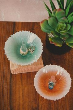 Glass Ring Holders, earthbound trading company