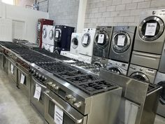 Best New, Gently Used, Scratch N Dent And Refurbished Appliances for sale - ASSEMBLY APPLIANCES - BIG Savings on Name Brand Appliances!   Our warehouse holds NEW, SCRATCH AND DENT, and GENTLY USED appliances to bring you the best savings possible.   Come in and see us today! Whether it is a single unit or an entire set, our friendly staff are here to help!   Call any time - 519-624-8792  Visit us at www. assemblyservices.ca or @assemblyappliancessalesandservice
