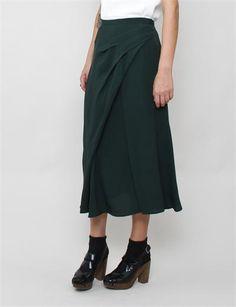 Rachel Comey: pleated midi skirt.