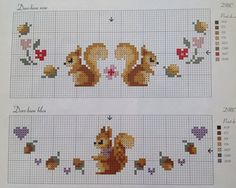 Whimsical cross stitch                                                                                                                                                                                 More