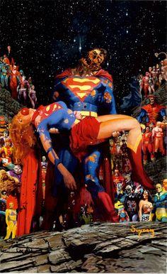 Zombie DC Universe by Arthur Suydam