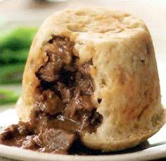 Uk Recipes, Steak Recipes, Cooker Recipes, Pastry Recipes, Steak And Kidney Pudding, Steak And Kidney Pie, Steamed Pudding Recipe, Pudding Recipes, Gourmet