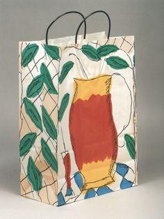 Bloomingdales shopping bag, summer 1989 by Robert Valentine