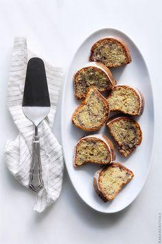 Blueberry Bundt Cake via Bakers Royale