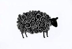 La Oveja Negra, Reproducciön Giclée, ilustración