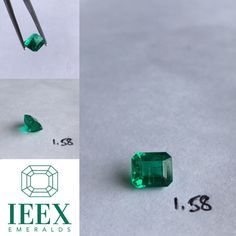 IEEX Emeralds - A beautifully cut Colombian 1.58 emerald cut displaying minor cedar oil exceptional  colour & clarity - for prices and video/info PLEASE contact directly via DM or email to info@ieex.com.co Cedar Oil, Colombian Emeralds, Emerald Cut, Clarity, Fancy, Colour, Jewels, Cedarwood Oil, Color