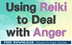 Using Reiki to Deal with Anger (includes FREE Reiki Exercise Worksheet) Angry Person, Dealing With Anger, Loving Kindness Meditation, Relaxation Techniques, Bad Mood, Negative Emotions, Relaxing Music, Spiritual Awakening, Understanding Yourself