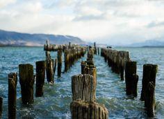 Antiguo Muelle en Puerto Natales