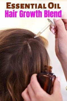 Oil For Hair Loss, Hair Loss Cure, Hair Mask For Growth, Hair Growth Oil, Essential Oils For Hair, Essential Oil Blends, Diy Hair Loss Treatment, Hair Treatments, Natural Treatments
