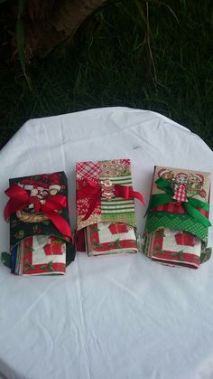 Porta-guardanapos de caixinhas de biscoito Bel Vita.