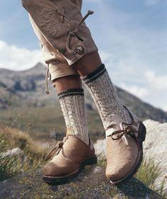 Damensocken, S7008 #Trachtenwolle
