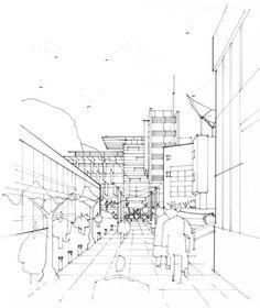Hatcher Prichard Architects Bristol Cardiff | Architectural Sketches