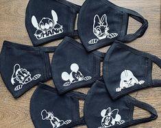 Diy Mask, Diy Face Mask, Blank Mask, Mouse Mask, Blue Face Mask, Face Masks For Kids, Halloween Face Mask, Protective Mask, Monogram Styles