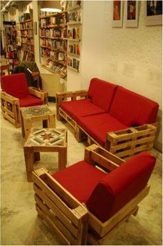 мягкая мебель из паллет 1