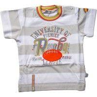 T-shirt w paski Rugby MMDadak 110