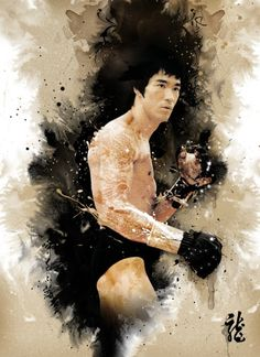 "Artista: Jim Hsieh   ""Bruce Lee"""