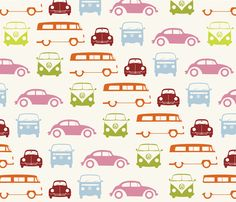 VW fabric for me to craft with from Spoonflower!