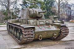 Soviet Heavy Tank KV-1. 1942. Советский тяжелый танк КВ-1. by Peer.Gynt, via Flickr
