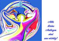 """'417-+Engel-Energiebild+""""Alle+Deine+Anliegen+sind+uns+wichtig!""""'+by+Margarete+Zängerlein+on+artflakes.com+as+poster+or+art+print+$15.25"""
