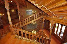 inside of the Holmenkollen Park Hotel in Oslo, Norway.