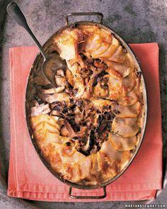 Potato-Mushroom Pie