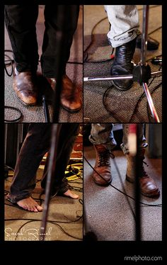 i guess I am a true fan. . .i know to whom all these shoes(and feet) belong:-)