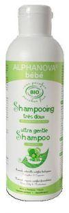 Delikatny szampon do włosów Bio, 200 ml Alphanova Bebe Toddlersi
