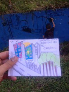 Graffiti nos prédios