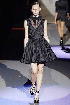 Zac Posen Spring 2007 Ready-to-Wear Fashion Show - Karen Elson