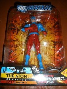 DC Universe Classics Series 5 Exclusive Action Figure The Atom Build Metallo Piece! by Mattel. $44.94. DC Universe Classics Action Figure from Mattel. Includes one piece to build your collect and connect Metallo action figure!. For Ages 4 & Up. Mattel produced this line of action figures based on the greatest heroes and villains from the DC Comics universe! Each figure is about 6 inch in height and features multiple points of articulation. This Walmart exclusive ...