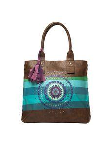 Bolso shopping bag Desigual - Mujer - Moda y complementos - El Corte Inglés - Bolsos - Mujer - Moda y Complementos El Corte Inglés - El Corte Inglés - Moda