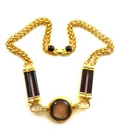 Magnificent Italian necklace 1970s LAURANA signed by RAKcreations