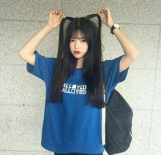 korean, girl, and ulzzang resmi Korean Girl Photo, Cute Korean Girl, Cute Asian Girls, Cute Girls, Ulzzang Fashion, Asian Fashion, Girl Fashion, Moda Ulzzang, Japonese Girl