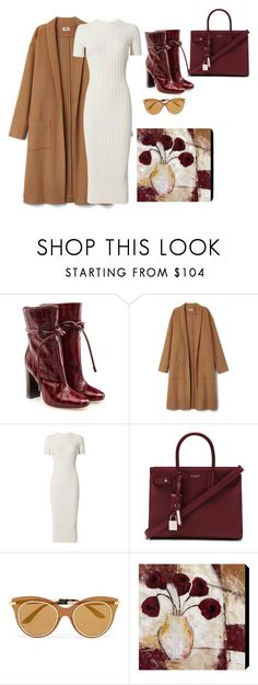 """""""nudes"""" by angel534 on Polyvore featuring Malone Souliers, Helmut Lang, Yves Saint Laurent and Dolce&Gabbana"""
