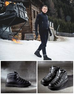 James Bond Boots for Specter by DANNER. #boots #specter #jamesbond #007…