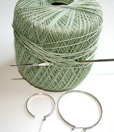 7Alive all Livin' in a Double Wide: Crocheted Earrings *Tutorial*