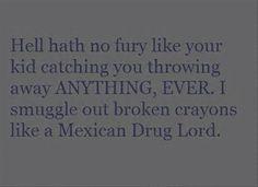 Throw it away? NEVER