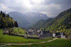 La Grande Chartreuse - Monastery where the monks make the liqueur Chartreuse.