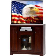AmericanHeartland TV Stand Finish: Bright White
