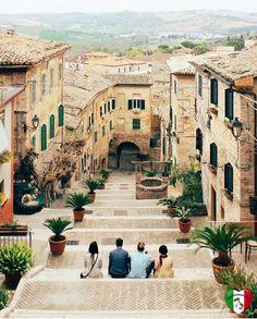 Comuna de Corinaldo, Província de Ancona, Região Marche, Itália