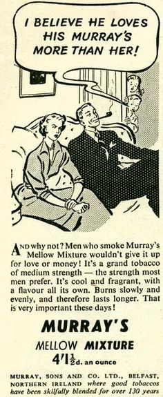 Murray, Sons and Company Tobacco Works Of Belfast, Northern Ireland :: Pipe Tobacco Discussion :: Pipe Smokers Forums