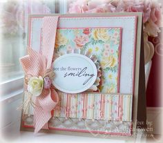 See The Flowers Smiling by AndreaEwen - Cards and Paper Crafts at Splitcoaststampers