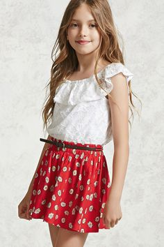 Girls Daisy Circle Skirt (Kids)