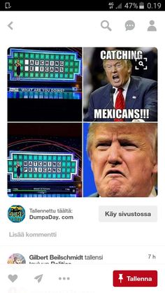 I'm sorry about all these Trump jokes, but they're just way too funny lol.